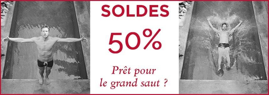 SOLDES -50%